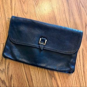 Casual vintage Leather Clutch